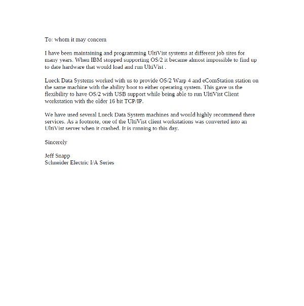 Reference Letter Scan Image